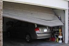 Just Backed into Your Garage Door? Here's What You Should Do
