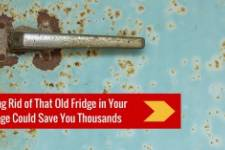 Getting Rid of That Old Fridge in Your Garage Could Save You Thousands