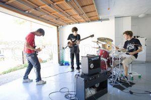 Starting a Garage Band in the Garage Is Feasible | A-1 Overhead Door Systems
